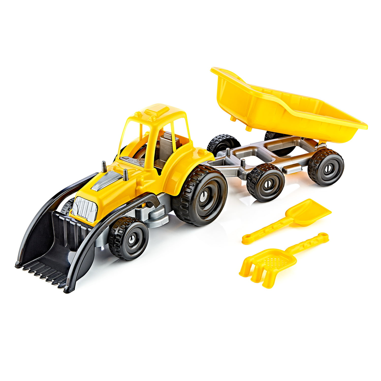 2108 – Lüks Römorklu Kepçeli Traktör