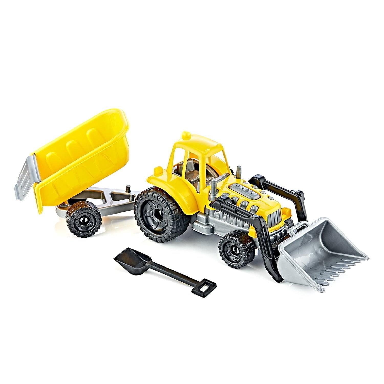 2641 – Şirin Römorklu Kepçeli Traktör