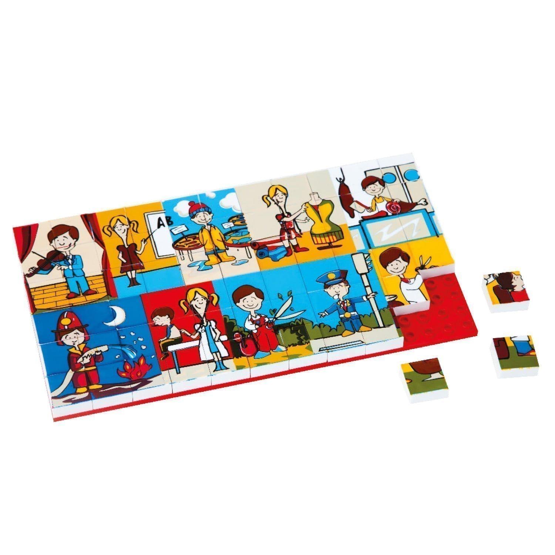 3266 – Resimli Puzzle 67 Parça – E1 Meslekler
