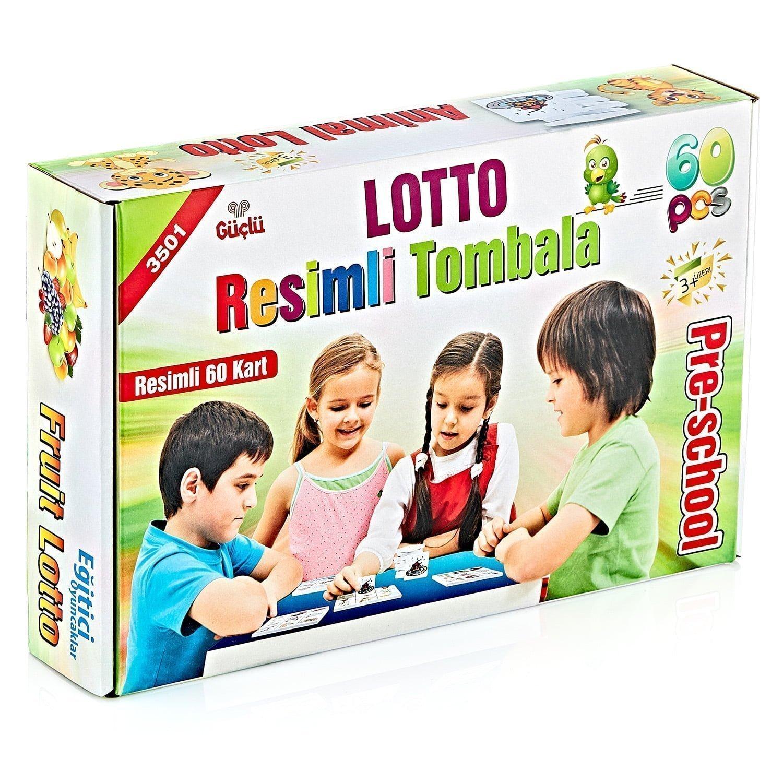 3501 – Lotto – Resimli Tombala 60 Prç
