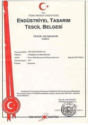 TASARIM TESCİL BELGESİ